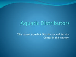 Aquabot Icon Xi Parts and Repair Services   Aquatic Distributors