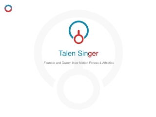 Talen Singer - Former Assistant Track Coach, Villanova University