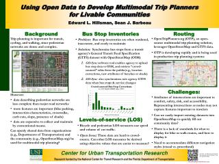 Center for Urban Transportation Research