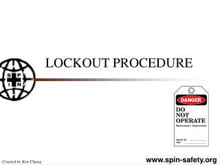 LOCKOUT PROCEDURE
