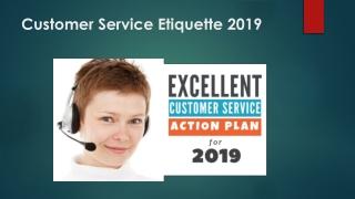 Customer Service Tips 2019