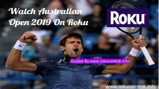 Australian Open  On Roku