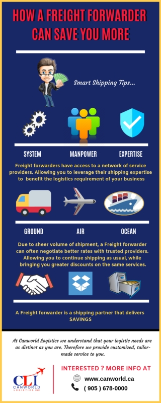 How a Freight Forwarder Can Save You More