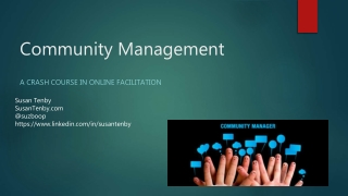 Pa network community manager