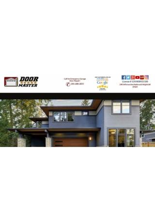 Leading Overhead Door Repair Company North Jersey