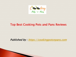 Top Best Cooking Pots and Pans Reviews