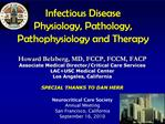 Infectious Disease  Physiology, Pathology, Pathophysiology and Therapy