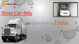 Best Car Carriers in India