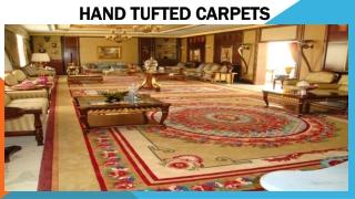 HAND TUFTED CARPETS IN DUBAI