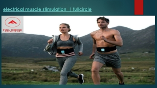 Electrical Muscle Stimulation-fullcircle