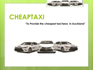 Cheap Taxi to Airport in Auckland
