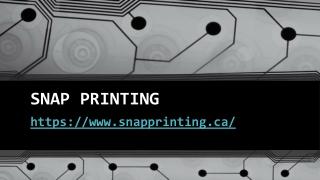 Graphic Design Services Kelowna – Snap Printing