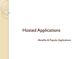 Hosted Applications by DeskPointe