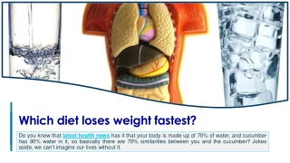 Which diet loses weight fastest?