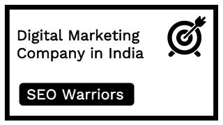 Digital Marketing Company in India - SEO Warriors