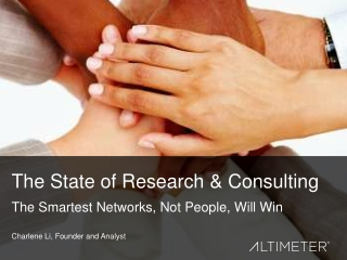 State of Research and Consulting