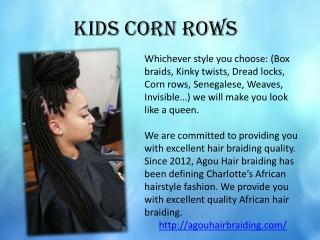 kids Hair Braiding