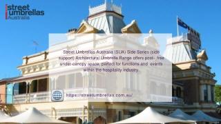 Portable Street Umbrellas at best price in Street Umbrellas Australia