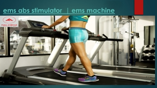 Ems Abs Stimulator-ems Machine