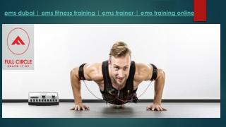 Ems Dubai-ems Fitness Training-ems Trainer-ems Training Online