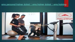 Ems Personal Trainer Dubai-ems Trainer Dubai-ems Training