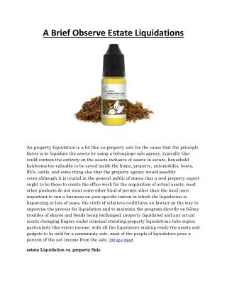 Honey Flue Cured