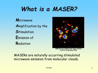 What is a MASER?
