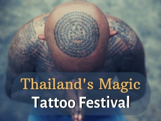 Thailand's magic tattoo festival