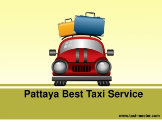 Pattaya Best Taxi Service