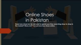 Buy Online Shoe in Lahore with Vampwelt