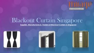 Blackout Curtain Singapore
