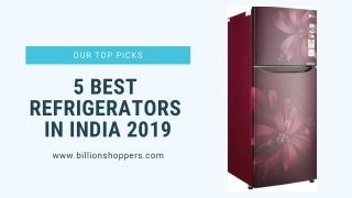 5 Best Refrigerators in India 2019