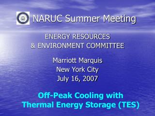 NARUC Summer Meeting