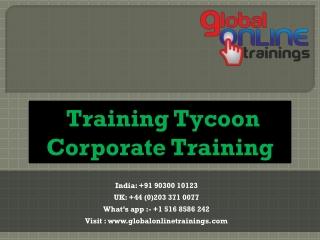 Training Tycoon Corporate Training | Training Tycoon Classroom Training