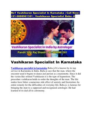 Vashikaran specialist in karnatala