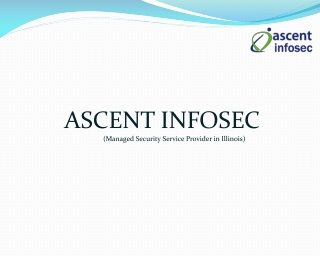 Ascent Infosec Managed Security Services