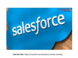 Best Salesforce CRM Online Training Institute in Hyderabad - Naresh IT