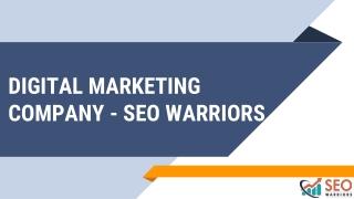 Digital Marketing Agency - SEO Warriors