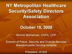 NY Metropolitan Healthcare Security