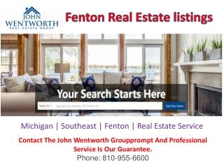 Real Estate Listings   Fenton Real Estate Listings   Mi Listings