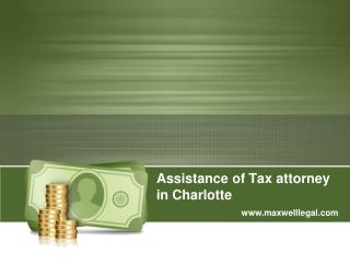 tax attorney in charlotte