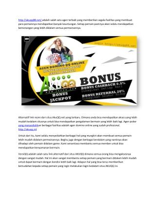 agen bandarq link login akuqq terbaik bonus setiap hari