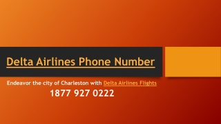Endeavor the city of Charleston with Delta Airlines Flights