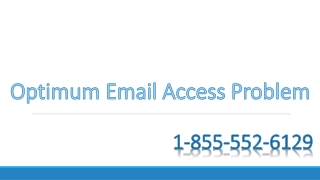 How to fix the issue of unable to access Optimum email