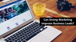 Can Strong Marketing Improve Business Leads