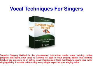 Important Vocal Training Tips