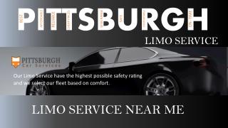 Limo Service Near Me - (724) 737-8057