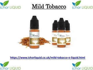 Mild Tobacco