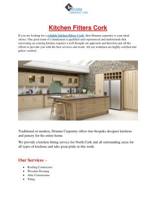 Kitchen Fitters Cork