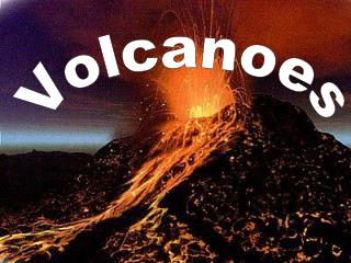 VolcanoA vent in the crust of the earth or another planet from which usually molten or hot rock and steam issue or a hil
